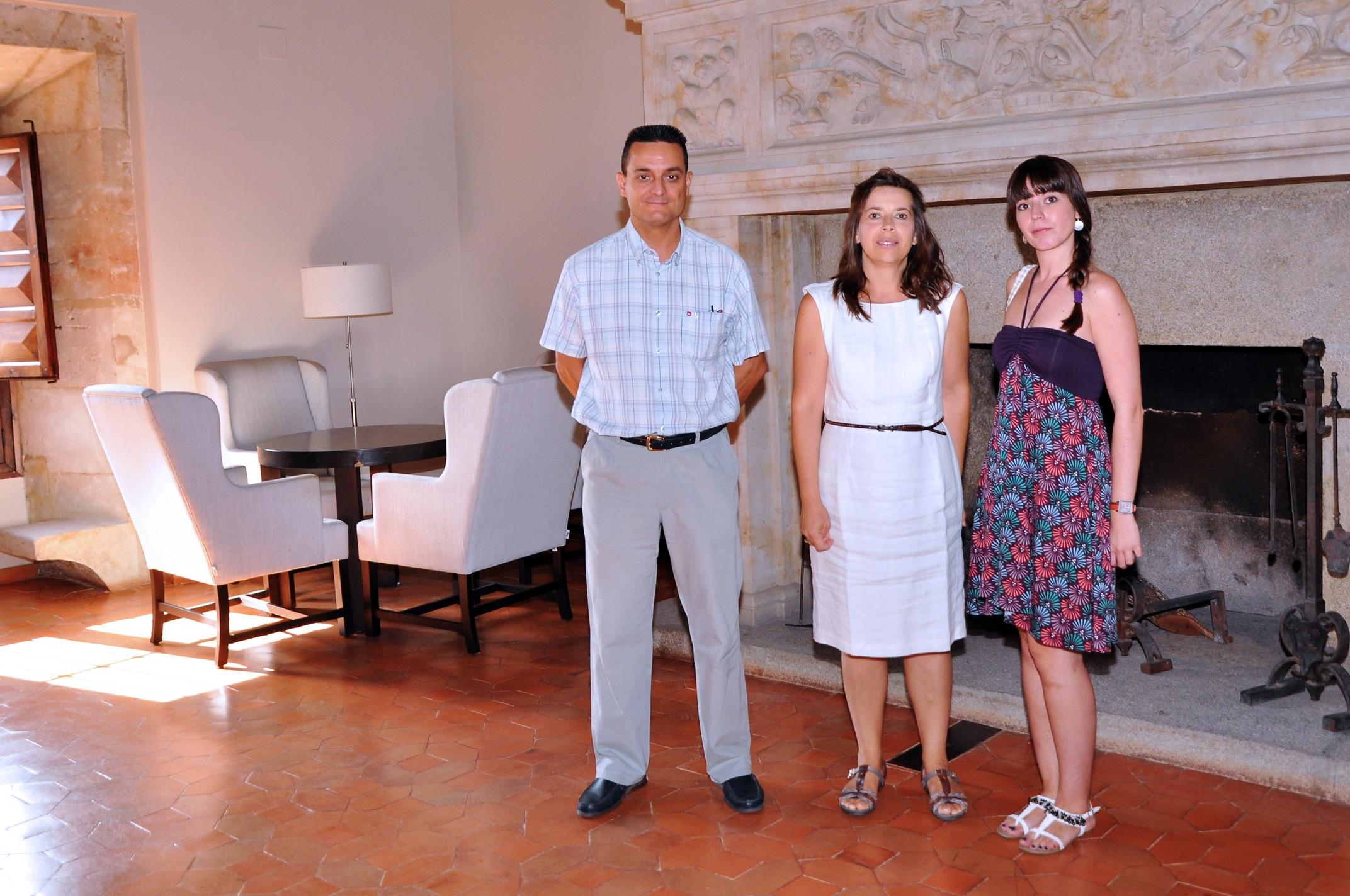 José Antonio Mayoral, Valentina Zangrando and Lucía García