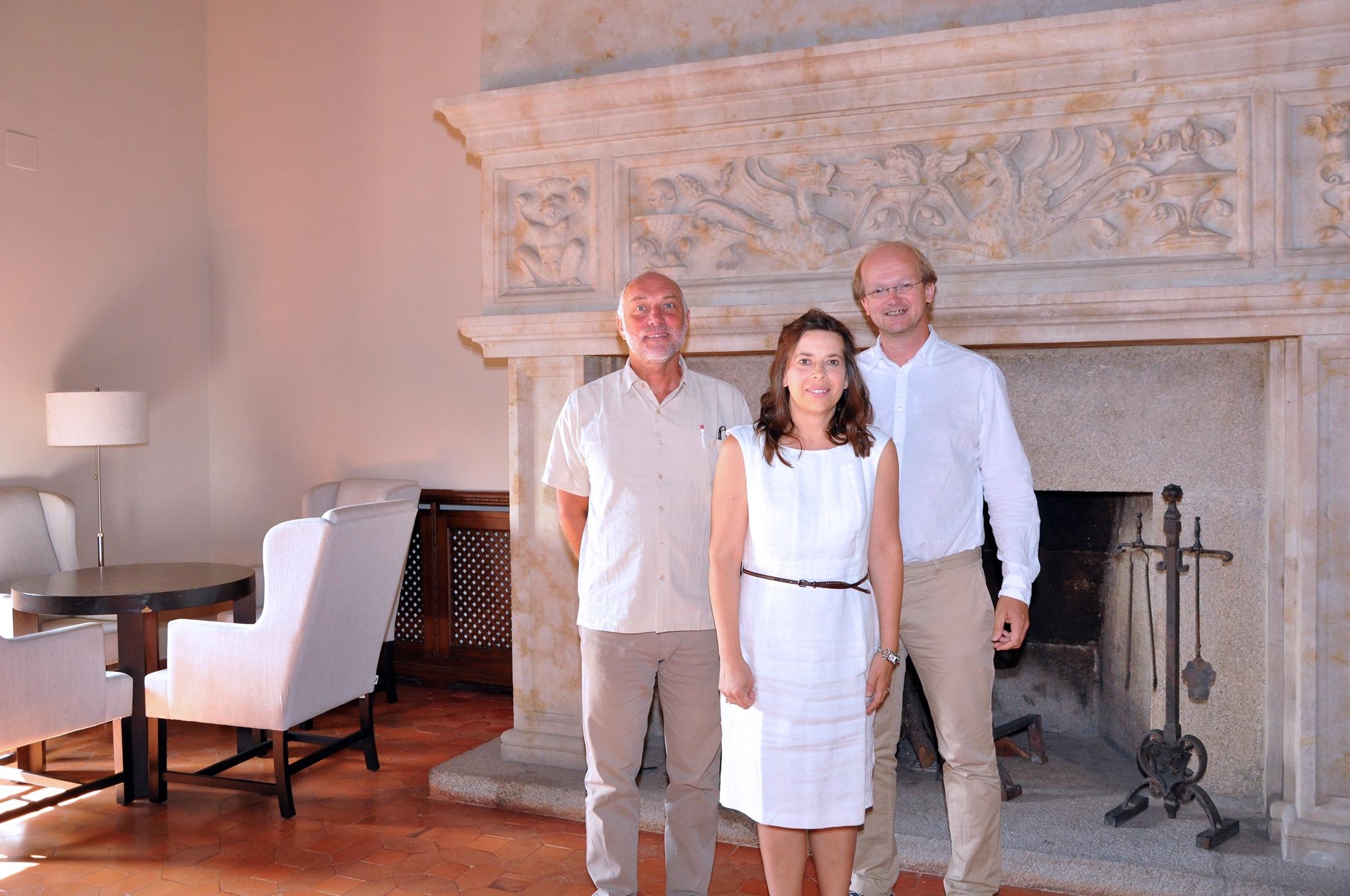 Franz Riegler, Valentina Zangrando and Lucía García